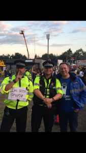 Street Angels at Ascot with police