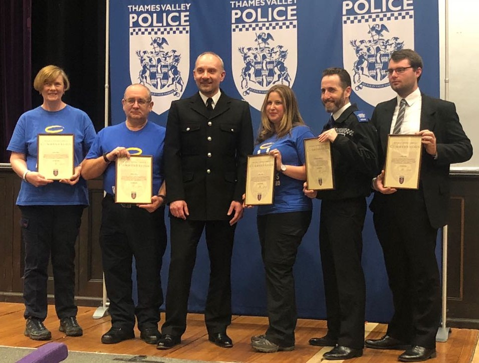 Windsor Street Angels receive LPA Commander Commendation