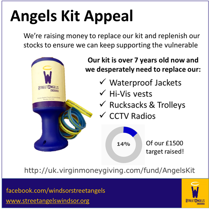 Help us replace our essential kit